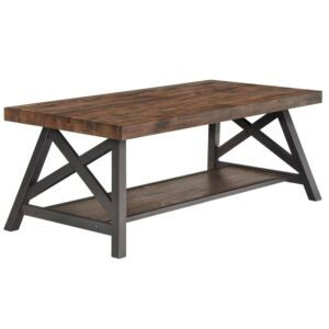 The Best Coffee Table Option: Laurel Foundry Isakson Trestle Coffee Table