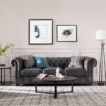 The Best Couch for Dog Option: Birch Lane Adelbert Genuine Leather 95'' Chesterfield