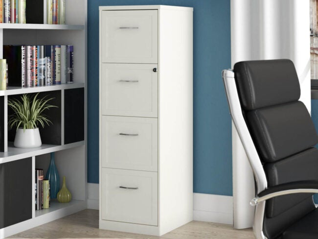 The Best File Cabinets for Paper Storage