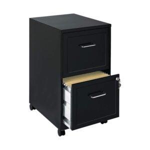 最好的文件柜选项:Lorell文件柜,黑色