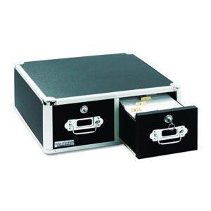 最好的文件柜选项:Vaultz锁定4 x 6索引卡柜