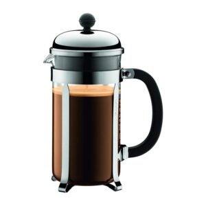 最佳法式压咖啡机:Bodum 1928-16US4 Chambord法式压咖啡机