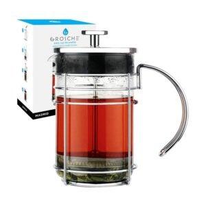 最佳法式压滤机选择:GROSCHE马德里法式压滤机咖啡和茶