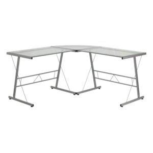 最好的L形桌面选项:闪光家具L形桌面