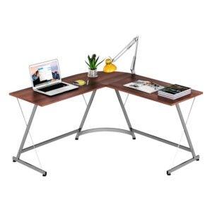 最好的L形桌面选项:Le Crozz Shw L形角桌