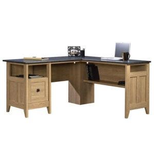 The Best L-Shaped Desk Option: Three Posts Mirabel L-Shape Executive Desk