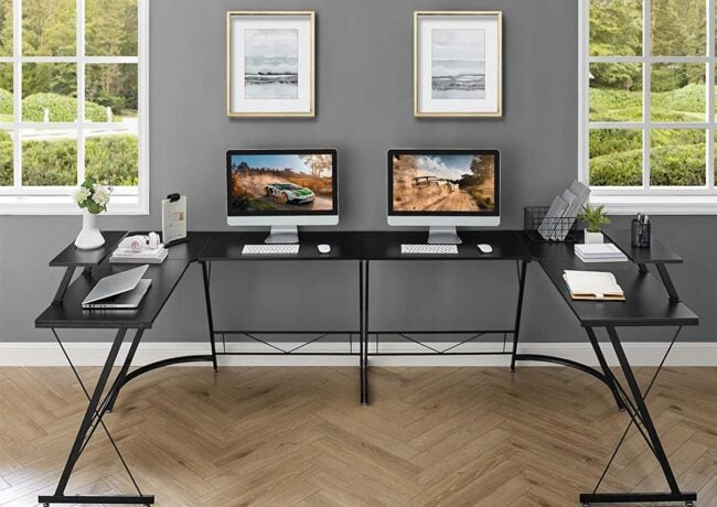 The Best L-Shaped Desk Options