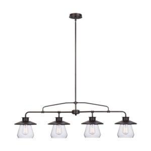最佳垂饰灯选择:全球电气65382内特4灯垂饰