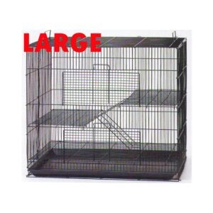 The Best Rat Cage Option: Mcage 3 Levels Small Animal Cage