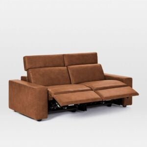 The Best Reclining Sofa Option: Enzo Leather Reclining Sofa