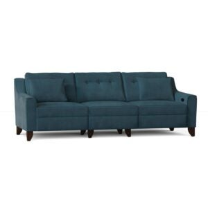 The Best Reclining Sofa Option: Wayfair Custom Logan Reclining 88 Square Arm Sofa
