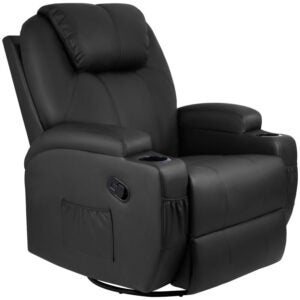 The Best Rocker Recliner Option: Latitude Run Abbotts Faux Leather Recliner