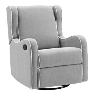 The Best Rocker Recliner Option: Viv + Rae Rowe Upholstered Manual Glider Recliner