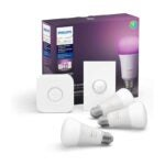 The Best Smart Light Bulb Option: Philips Hue White and Color LED Smart Button Kit