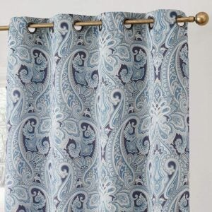 The Best Thermal Curtains Option: HLC.me Paris Paisley Thermal Insulated Curtain Panels