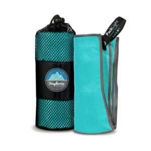 The Best Travel Towel Option: Youphoria Outdoors Microfiber Camping Towel