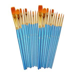 The Best Watercolor Brushes Option: BOSOBO Paint Brushes Set, 2 Pack