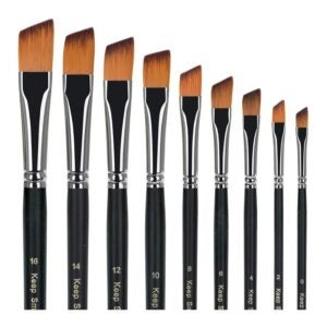 The Best Watercolor Brushes Option: golden maple Artist Paint Brushes Set