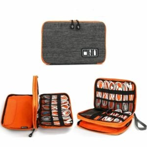The Best Cable Management Option: Jelly Comb Electronic Accessories Cable Organizer Bag