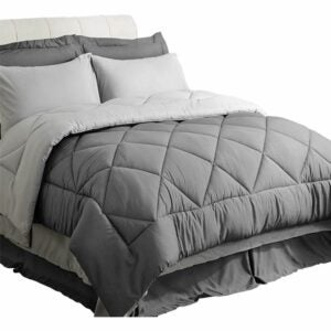 The Best Comforter Sets Option: Bedsure 8 Pieces Bed in a Bag