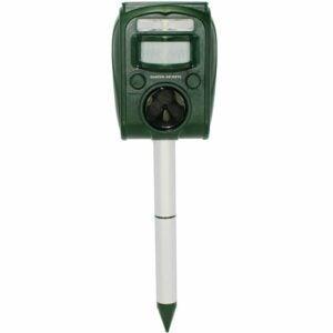 The Best Deer Repellent Option: GARDEN SECRETS Solar Ultrasonic Animal Repellent