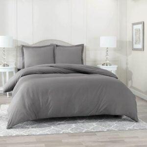 最好的羽绒被封面选项:巢夹床上用品盖盖3件套装