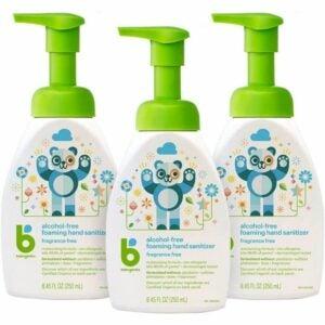 The Best Hand Sanitizer Option: Babyganics Alcohol-Free Foaming Hand Sanitizer