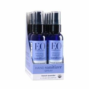 The Best Hand Sanitizer Option: EO Organic Hand Sanitizer Spray: French Lavender