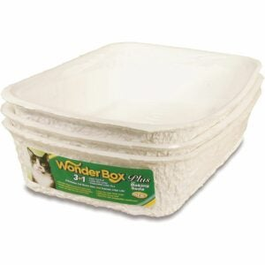 The Best Litter Box Option: Kitty's Wonderbox Disposable Litter Box