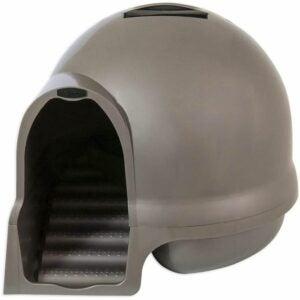 最佳猫砂盒选择:Petmate Booda Dome清洁步骤猫砂盒