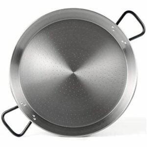 "The Best Paella Pan Option: Garcima 28"" (70cm) Pata Negra Restaurant Grade Paella Pan"