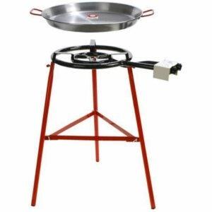 The Best Paella Pan Option: Garcima Tabarca Paella Pan Set with Burner