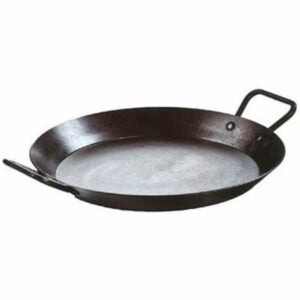 The Best Paella Pan Option: Lodge Carbon Steel Skillet