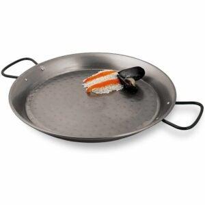 The Best Paella Pan Option: Virtus Spanish paella pan
