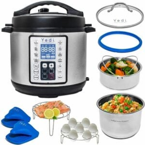 The Best Pressure Cooker Option: Yedi 9-in-1 Instant Programmable Pressure Cooker XL