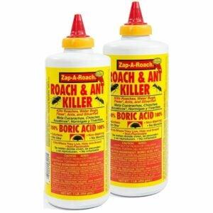 最好的蟑螂诱饵:zapa -Roach硼酸蟑螂和蚂蚁杀手