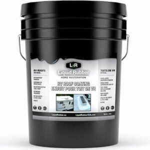 The Best Roof Sealant Option: Liquid Rubber RV Roof Coating - Solar Reflective