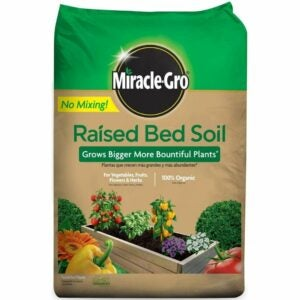 The Best Soil for Raised Beds Option: Miracle-Gro Raised Bed Soil