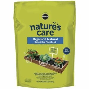 The Best Soil for Raised Beds Option: Nature's Care Organic & Natural Raised Bed Food