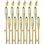 The Best Tiki Torch Option: Matney Bamboo Torches