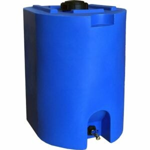 The Best Water Storage Container Option: WaterPrepared Blue 55 Gallon Water Storage Tank