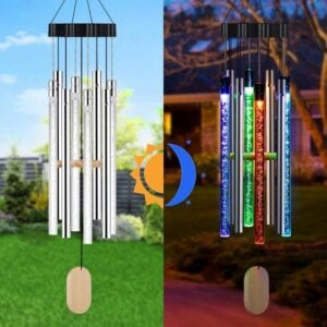 The Best Wind Chimes Option: Kearui Solar Wind Chimes Light