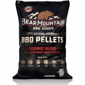 The Best Wood Pellets Option: Bear Mountain BBQ Hardwood Pellets - Gourmet Blend