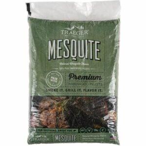 The Best Wood Pellets Option: Traeger Grills PEL305 Mesquite Hardwood Pellets