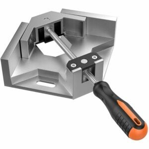 The Best Woodworking Clamps Option: Housolution Single Handle Right Angle Clamp