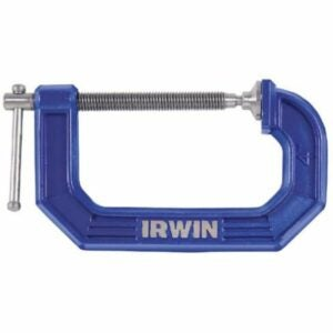 The Best Woodworking Clamps Option: Irwin QUICK-GRIP C Clamp