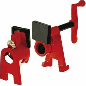 The Best Woodworking Clamps Option: Bessey BPC-H34 ¾-Inch H-Style Pipe Clamp