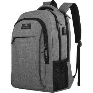 Best Backpacks Options: Matein Travel Laptop Backpack