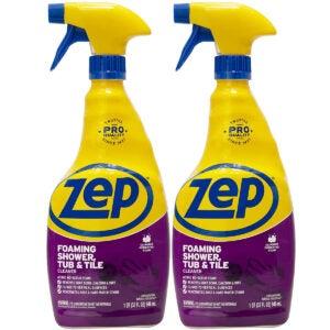 最佳浴缸清洁选项:ZEP发泡淋浴浴缸和瓷砖清洁器32盎司