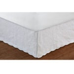 Best Bed Skirt Options: Greenland Home Paisley Quilted Bed Skirt, Queen